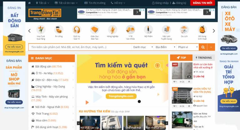 Những trang web đăng tin hiệu quả dành cho ngành bất động sản miễn phí