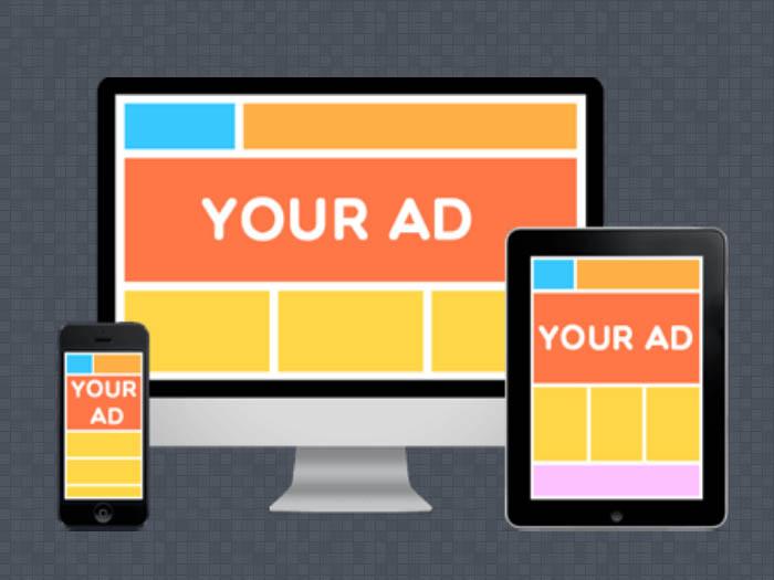 quảng cáo trang web